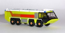 Scenix Airport Fire Engine Lime Green Herpa Accessory Model Scale 1:200 532921 E